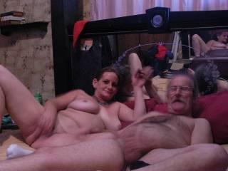 wow your a lucky man she is sexy ass hot Mmmmmm