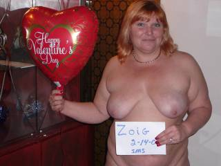 Very Pretty Lady.  Hope you had a FUN VD day