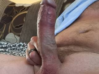 I woke up this morning so horny wishing you were here beside me helping me to calm my lust, fucking my brains out with that huge cock