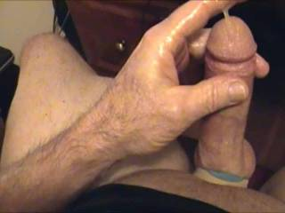 """Hope you """"LIKE"""" my 30 seconds of cum play.  Posted for those that cant see longer vids."""