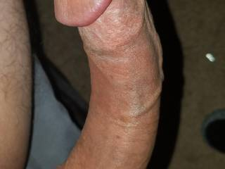 Close up of my big dick