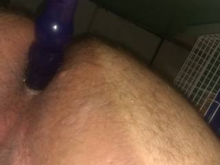 Love my anal toy