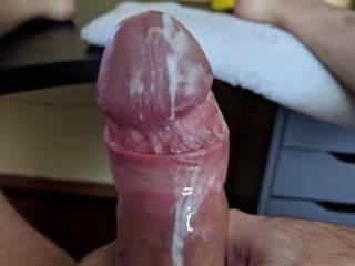 A little cum