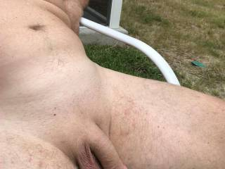 Looking for anyone that wants to sunbath?