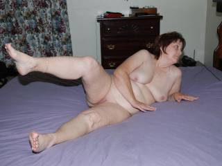 Me! Wow! you have a very nice lovab;le sexy body. and an especially nice bare pussy to lick and cares, finger and fuck.