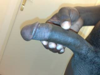 beautiful one...large and ...black...would you like to make black babies with the wife?
