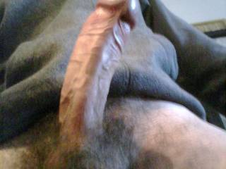 nice cock!   i would suck it good!