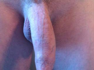 A really nice natural uncut cock!