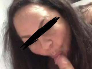 Who wants to suck with her?