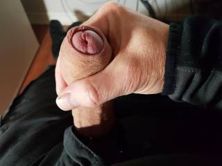 My cock this morning.
