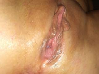 And this is my pussy after being freshly fucked