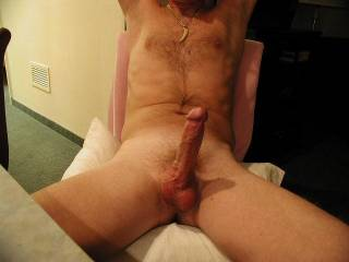 Have you ever had a chair fuck? Imagine sinking slowly down on my hard cock.