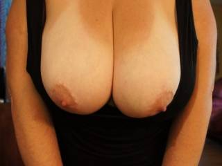 well i sure would never get bored of seeing your boobs babes and so would love to squeeze them kiss them suck them and well i think you can guess the rest lol xxx