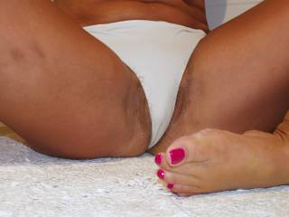 white panties