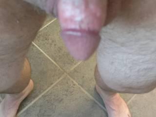 I love having women watch me stroke my hard dick!!