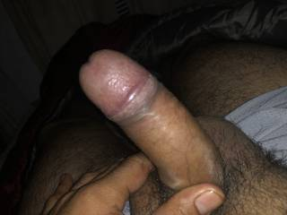 Ready to be spread by my thick dick