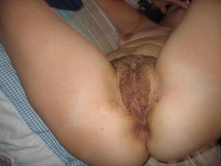 cum deep inside her