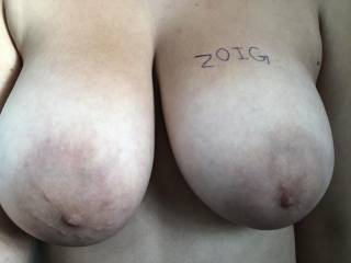 my boobs in honor of the people on zoig.com ;)