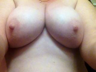 yes I like no I love can I be a second husband my cock would constantly be in between your tits giving you cum