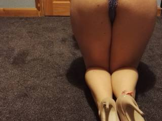 they are very sexy, and once i've pulled your panties to one side and slid my cock into you, i'll grab them and fuck you good and hard!