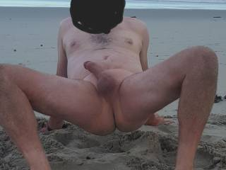Picture from last summer of me playing up on the beach. Anyone want to join me this summer.