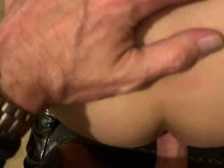 God I love my ass being fucked hard and deep, who wants to try it?