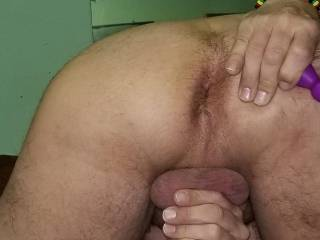 in need of a prostate massage..for a BIG CUM shot