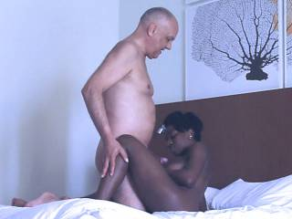 Enjoy an African ebony porn action with porn actress Barbie and porn actor Cane