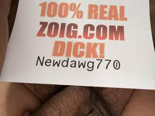 100% Real Dick