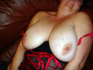 I Love your Full Breast and Large Aerola's. I would love to Kiss, Lick and Suck on them. Then if you were receptive; I would Gladly Kneel between your Open Thighs and give you Oral SEX and have you CLIMAX in my Mouth several times before we quit. If you are interested; then you can make this a REALITY for both of us. Please do not allow this Opportunity to Pass..  Love and Kisses, Maryann