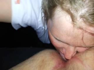 She sucks cock & gives great rim jobs? Would you be interested in sharing her?