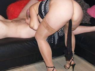 Nice ass and great legs!!! Wouldn't mind you giving me a bj before spreading your sexy thighs and hopping on top of my cock!!!