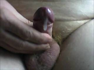 I like your uncut cock and cum shot.