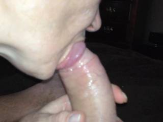 she can suck me anytime - my wife would love to taste her also