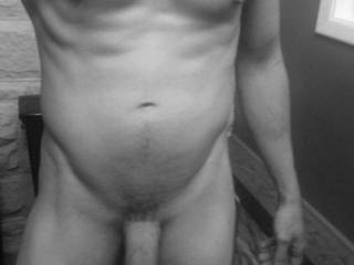 My eyes are so satisfied by what they see... gorgeous fit body and what a huge cock... i bet my pussy would be even more excited by what it would feel...