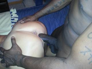 Oooooooh fuck yeah....Nice fuck picture too.  I'm sure she enjoyed that huge hard black cock.... I would.  I'd want to be fucked like that hard, deep and very, very long.  MILF K