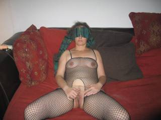 Great outfit and love your hairy pussy!!