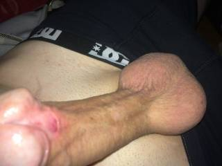 Lov to suck on your cock and balls
