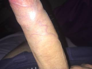 Looks like a virgin cock.  How are you going to fuck with such tight foreskin.  Have to masturbate and pull your foreskin fully back, more often, to expose your cock head, so that you can penetrate that juicy pussy.