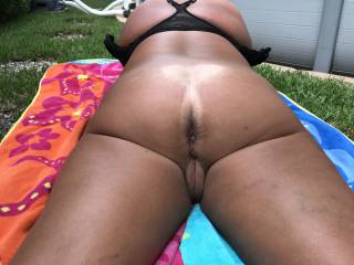 wife outdoors