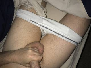 Horny in bed, need some pussy. Can you help?