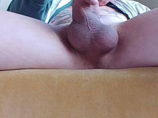 Stroking my Cock and Cumming. I love stroking my Cock for people to watch.