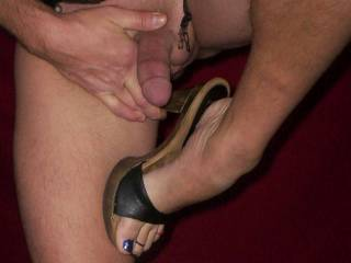 My husband wants to suck that cock