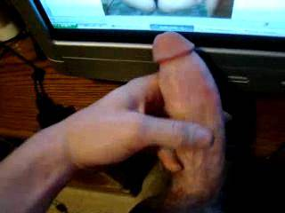 What a wonderfully big, curved young cock...mmm...