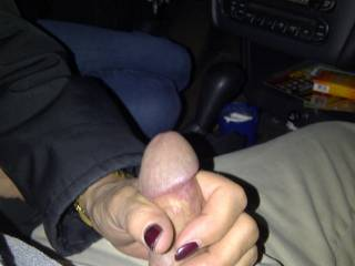 It's fuck getting jacked off while driving