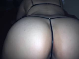 love to pull your thongs off with my teeth & tongue fuck your asshOle tongue deep, stick my hard cock in your pussy n fuck it hard n deep, fill your love holes with cum :)