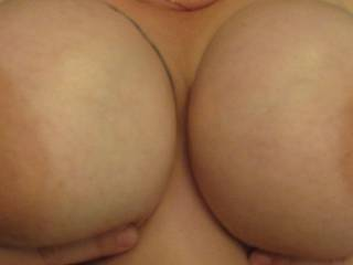 Great pair for cumming on and titty fucking!!!