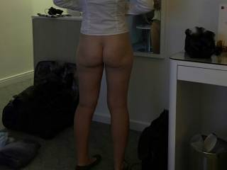 Getting dressed after great hotel sex with a new acquaintance. That\'s what I need right now - to be a total slut and whore with a new guy, be totally used and then leave & go back to my boring life