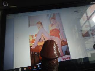 Is my cock too fat for your little pussy ms MiouMiou81? I don\'t hurt you ....