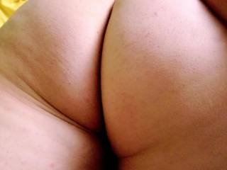 Wife's big ass ready for dick
